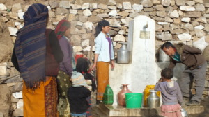 Clean drinking water built by JHF
