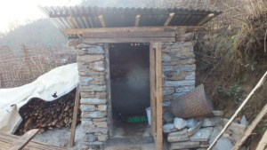 Community bathrooms built by JHF!