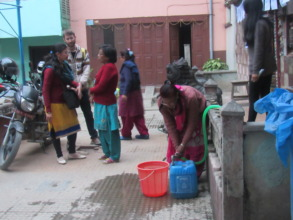 Interaction with water user group