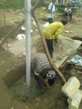 construction works going on at the project site