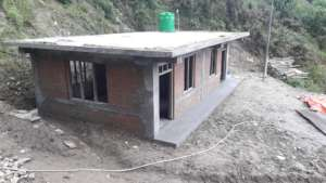 Almost completed health unit (new) in Baruwa
