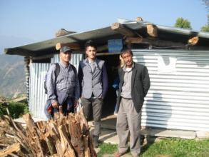 Temporary PHASE Nepal health post