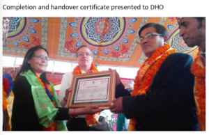 Handover Ceremony for Chhatredeurali Health Post