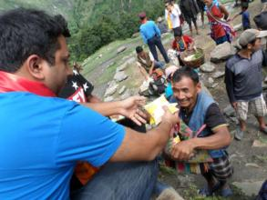 HHC Relief in Northern Dhading