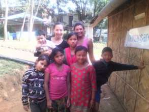 Volunteers and the children are like a big family