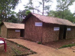 Our bamboo houses