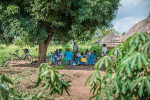 Outreaches in the centre villages