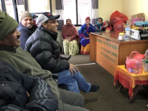 Meeting with Board Members and Care-Taker