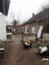 Rrustemi family's yard