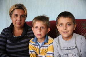 Istisha and her sons