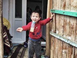 Naxhije's 3-year-old nephew