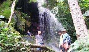 Water Fall which will feed the power plant in 2009