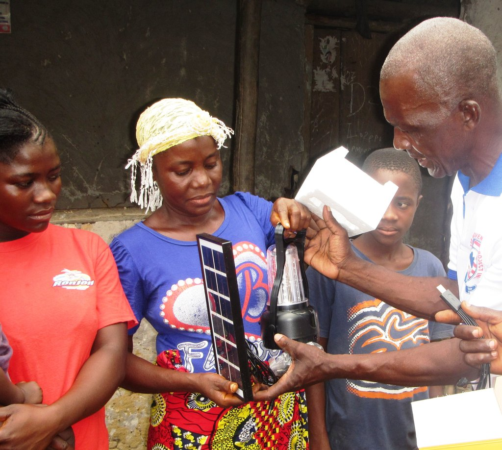 Solar Lanterns for 3000 Village Homes in Liberia