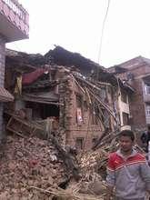 Earthquate Destruction in Villages