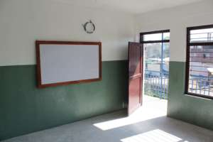 You've helped us provide classrooms