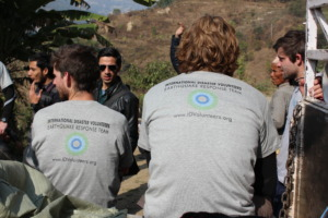 Our 'Nepal Earthquake Response Team' taking 'five'