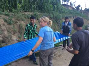 Distributing Shelter Materials
