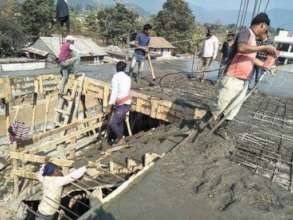 Kalika - more construction work
