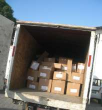 Truckload of Books to Meyer