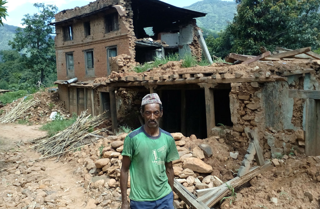 Relief to Nepal earthquake victims