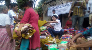 Nepal Relief Camp