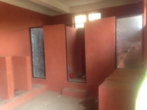 Inside view of new girl-friendly toilet