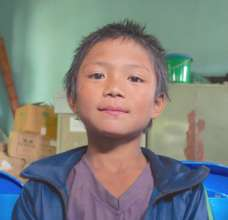 Buddhi, 8, one of 60 kids rescued from bricks
