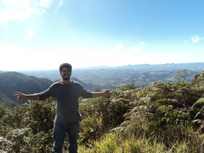 Felipe Dantas, one of our agroecology interns