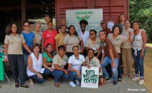 Volunteers, board members and staff of the GHFS