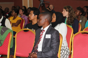 Discussion participants at a screening in Lilongwe