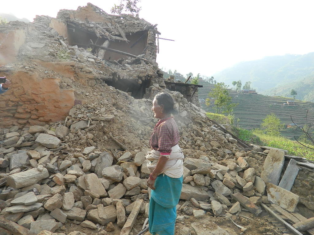 Earthquake relief for remote villages of Nepal