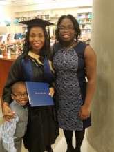 Natacha with her children