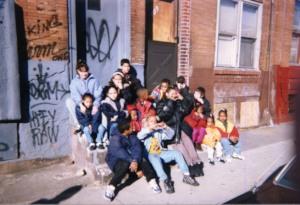 Kids at 9th & Indiana North Philadelphia