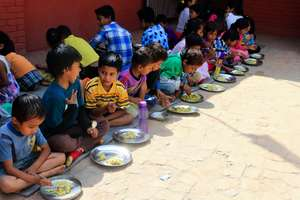 NYF provides hearty lunch for earthquake survivors