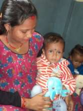Suresh regaining his health - with his mother