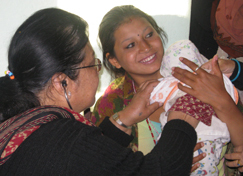 This 15-year-old girl's baby is being saved from malnutrition