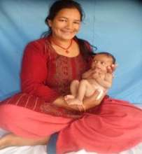 Kripa and her mother after 36 days at NRH