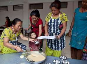 Mothers learn the basics of good nutrition