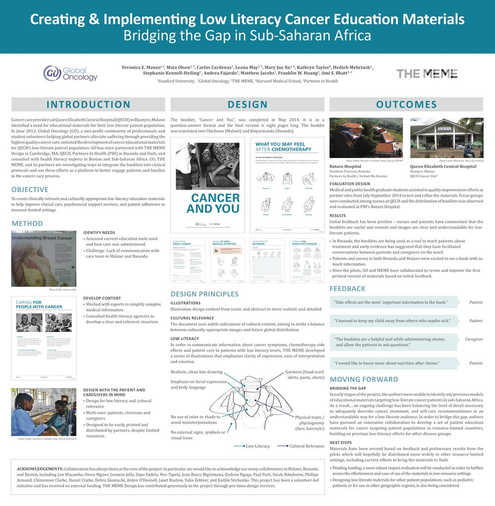Improving Cancer Outcomes with Patient Education
