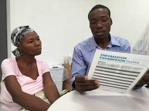 GO's booklets reach Haiti this summer, July 2015!