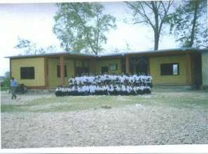 New School House that replaced old cow shed