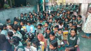Study Material Distribution by our Donors