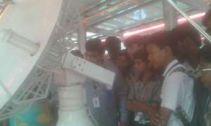 Our children at ISRO