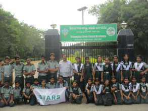 Our Children at Telangana State Forest Academy