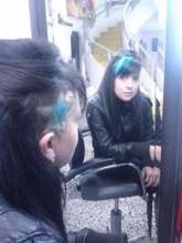 Hair dye styles
