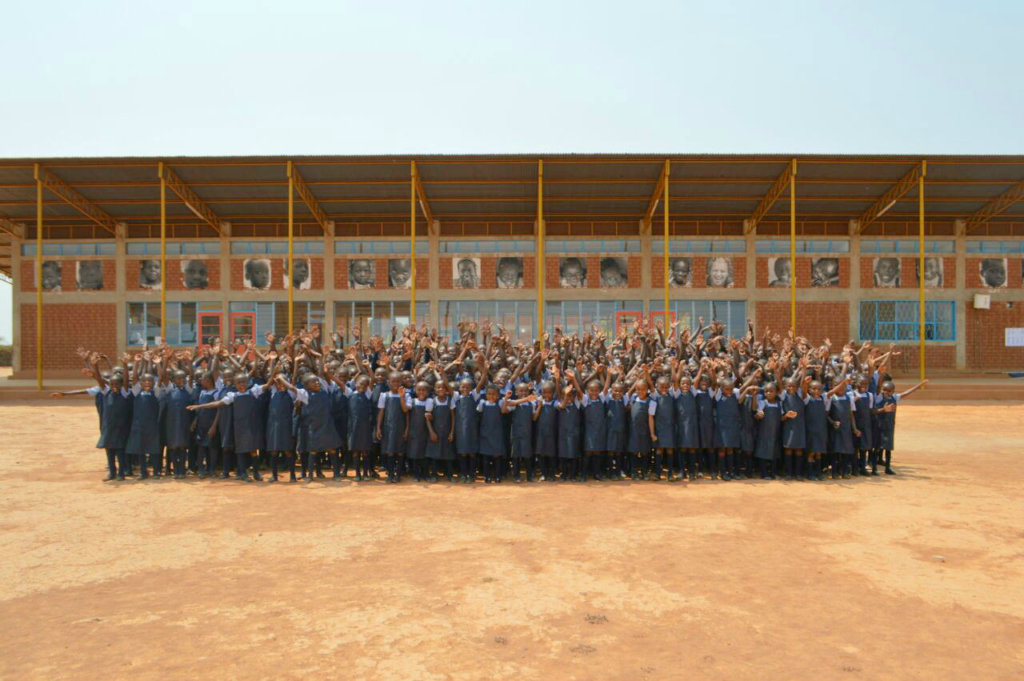 Sponsor the education of 29 girls in the DRC