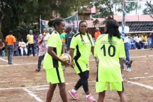 Young Women gearing up for games