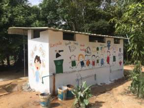 Our brand new toilet block!