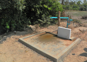 Our wonderful new well!