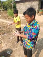 Thorough hand-washing to kick off each home-visit